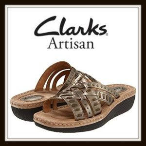 New Clarks Artisan Latin Ivy Comfort Sandals 9.5